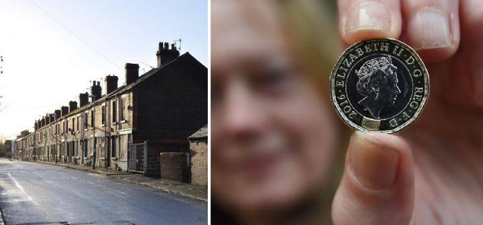 £1-ért lehet házat venni Angliában 2 városban is 1