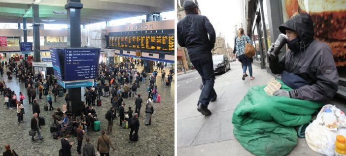 Hatalmas hajléktalanszállóvá alakítják London egyik legforgalmasabb metróállomását karácsonykor 2
