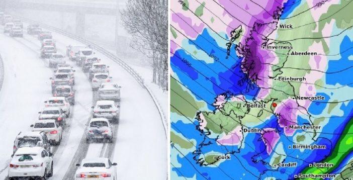 Nagyot zuhan a hőmérséklet és több helyen havazás lesz Nagy-Britanniában a héten 1