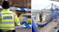 10 embert találtak egy konténerbe zárva Angliában, Hull városában 1