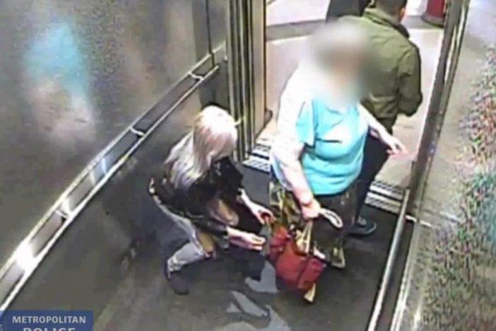 Így loptak el £1,000-ot egy nénitől néhány pillanat alatt Londonban, a kamera mindent rögzített 2