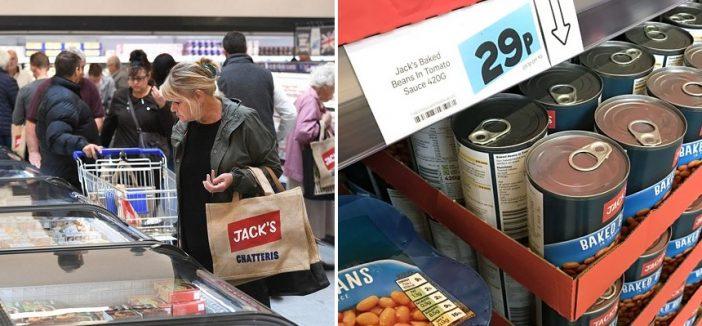 Az új szuperolcsó bevásárlólánc Angliában: ilyenek az árak az Aldihoz képest 2