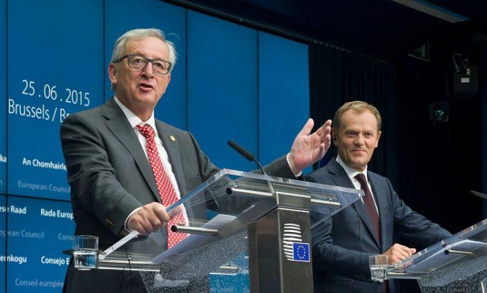 EU vezetők Tusk Juncker