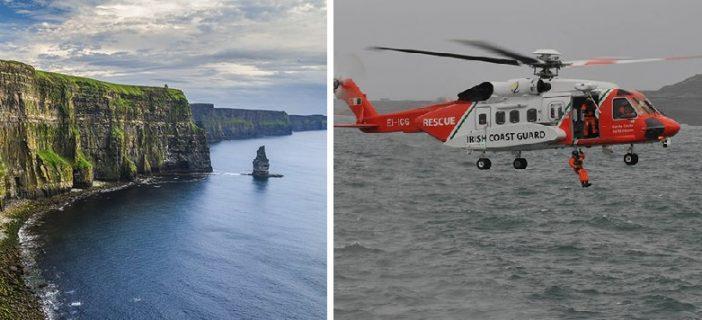 Magyar férfit sodortak be a hullámok a tengerbe Írország partjainál 1