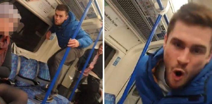 Rasszista támadás a londoni metrón: rengetegen kiakadtak a fehér srác viselkedésén 2