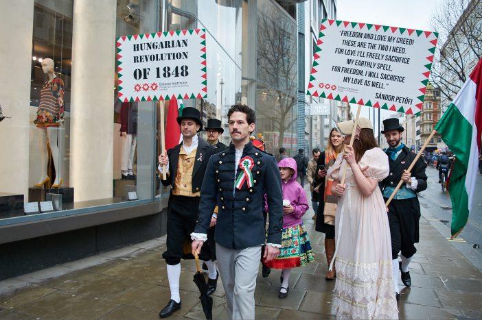Ilyen volt a londoni magyar március 15-i esemény képekben 1