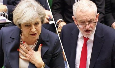 may corbyn brit parlament