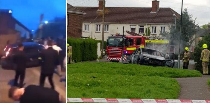 Szándékosan tömegbe gázolt egy autó Nagy-Britanniában, amit le is videóztak 2