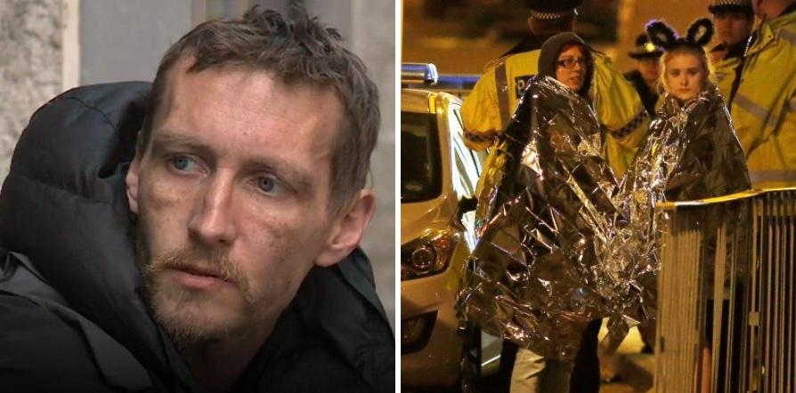 Angliai terrortámadás: szögeket húzott ki a sérültekből egy hajléktalan a robbanás után 1