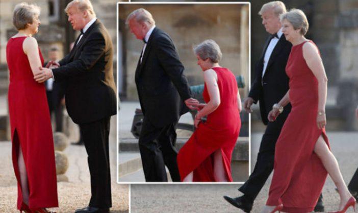 """Az amerikai elnök megérkezett Londonba és máris """"beszólt"""" a miniszterelnöknek és London polgármesterének 2"""