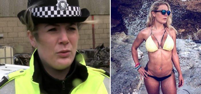 Többen kiakadtak a dögös angliai rendőrnőre, aki betegszabadságra ment, közben pedig bejárja a világot 1