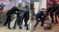 Egy vásárlóval verekedtek össze a Sainsbury's dolgozói Londonban 2