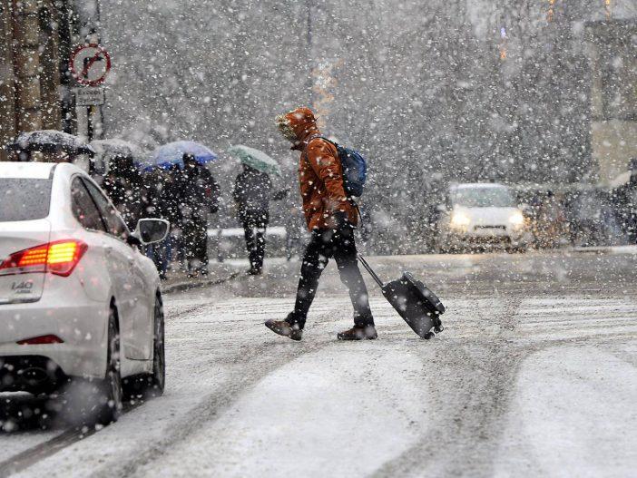 Újabb hidegek érik el a héten Nagy-Britanniát, helyenként 10 centi hó is esni fog 2