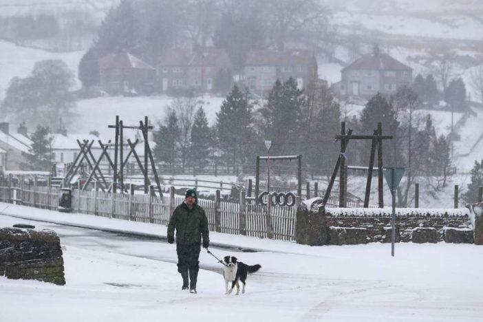 Leesett az első hó Nagy-Britanniában, és országszerte megérkezett a fagyos, téli hideg 1