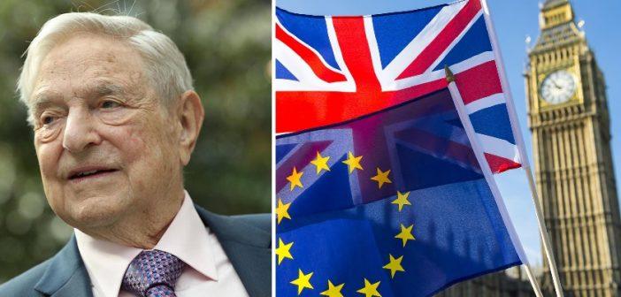 A magyar származású milliárdos Soros György nagy összeget adományozott a Brexit megbuktatására 1