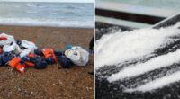 Hatalmas, 80 millió GBP (32 milliárd Ft) értékű kokainszállítmányt sodort partra a víz Angliában 2