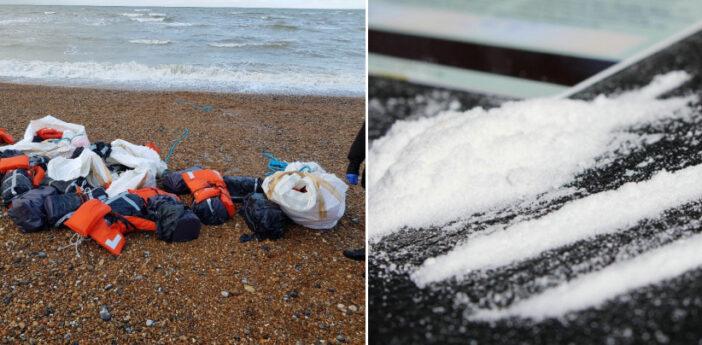 Hatalmas, 80 millió GBP (32 milliárd Ft) értékű kokainszállítmányt sodort partra a víz Angliában 1