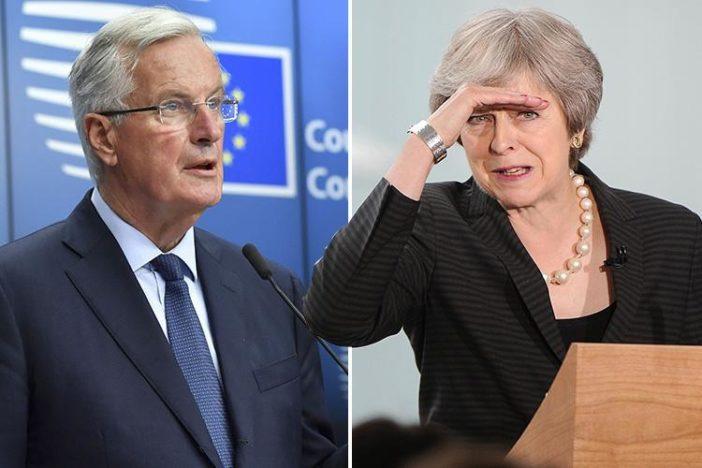 barnier may kilépés brexit
