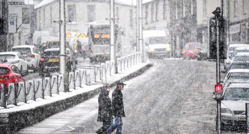 Leesett az első hó Londonban… 1