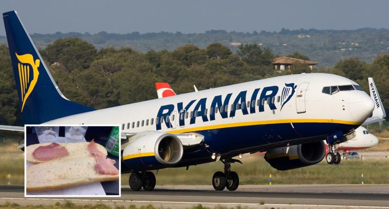 ryanair szendvics