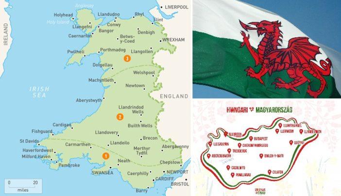 Ilyen lenne a legismertebb magyar városok neve walesi nyelven 19